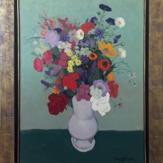 Bouquet de Fleurs  by  Clement Serveau (1886 – 1972)