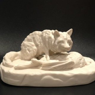 Parian Fox Figure