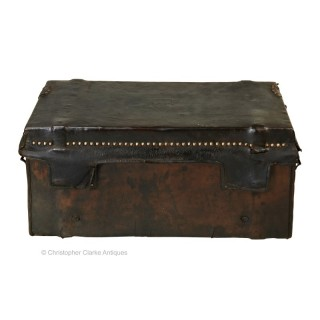 French Leather Trunk