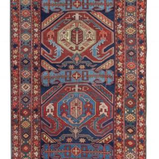 Antique Bidjar Kazak Carpet Runner 107x330cm