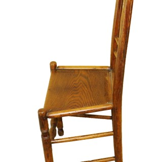 Set Of 6 19th Century Kitchen Dining Chairs