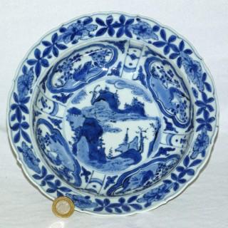 Chinese Ming Kraak Porcelain Bowl