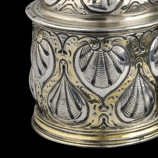 A silver and parcel gilt 'ladies' size' Tankard