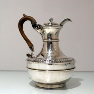 Early 19th Century Antique George III Sterling Silver Biggin on Stand London 1807 John Emes