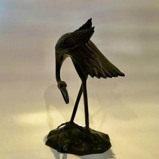 Japanese Bronze Stork