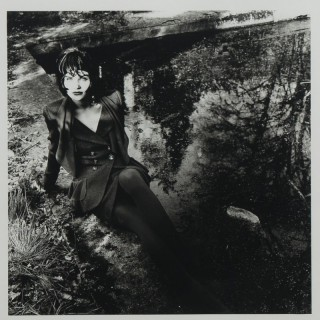 Original photograph of Helena Christensen by Karl Lagerfeld