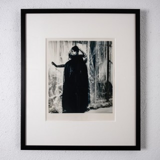 Original photograph of Christy Turlington by Karl Lagerfeld