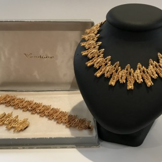 1960's Vendome  Necklace and Bracelet