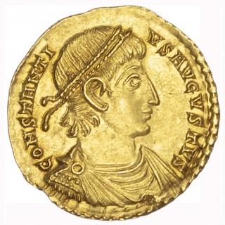 CONSTANTIUS II, GOLD SOLIDUS