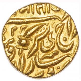 INDIA, JODHPUR, SARDAR SINGH (AD 1895-1911), GOLD MOHUR