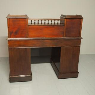 Victorian Mahogany Dickens Desk