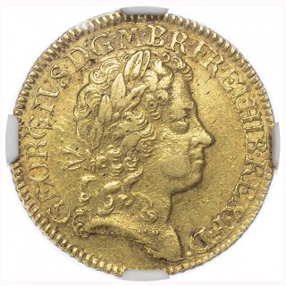 GEORGE I (1714-27), GUINEA, 1720