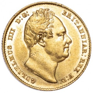WILLIAM IV (1830-37),1836 SOVEREIGN