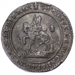 CHARLES I (1625-49) POUND, 1643, OXFORD MINT