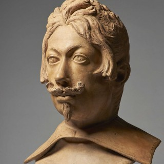 17th Century Portrait Bust of Ferdinando II de' Medici