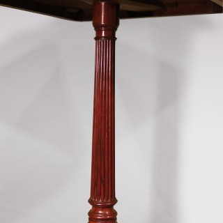 A Regency period occasional tripod table
