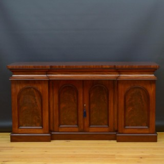 Early Victorian Mahogany 4 Door Sideboard