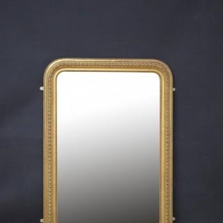XIXth Century Gilt Wall Mirror