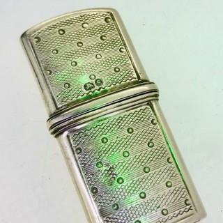 Silver Needlecase