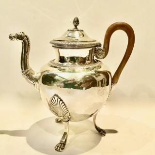 Rare Silver Teapot