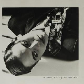 "Original photograph ""A souvenir of Biarritz"" by Karl Lagerfeld"
