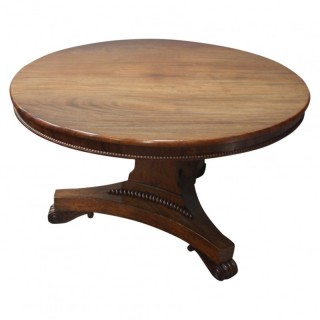 George III Mahogany Breakfast Table, likely by W. Trotter