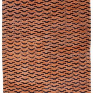 Antique Tiger rug