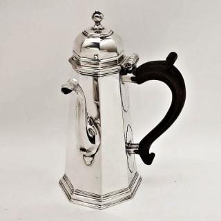Antique George I Silver Coffee Pot