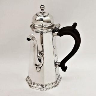 Antique George I Silver Coffee Pot