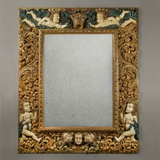 A Magnificent Baroque Mirror Frame