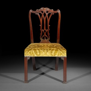 Fine George III Chippendale Mahogany Chair
