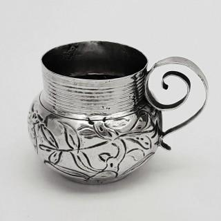 Antique Silver Miniature Mug