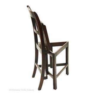 A Regency Naval Chair
