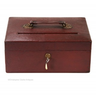 Red Despatch Box by Vickery