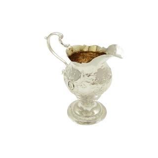 Antique Georgian Sterling Silver Jug 1767