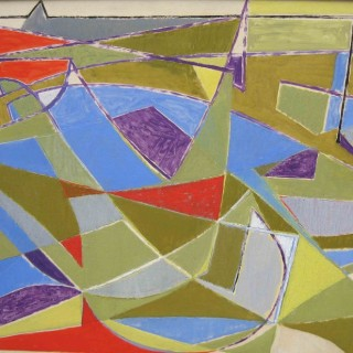 Le Port au Printemps by Othello Radou  (1910-2006)