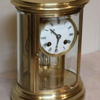 Small Oval Four Glass Clock