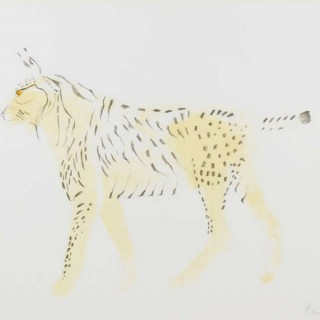 Elisabeth Frink Lynx, from Eight Animals