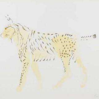 Elisabeth Frink Lynx, from Eight Animals