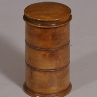 Antique Treen 19th Century Sycamore Three Tier Spice Tower