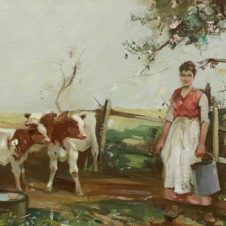 The Milkmaid Hugh Munro (1873-1928)