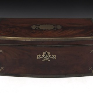 Antique Campaign Military Writing Box