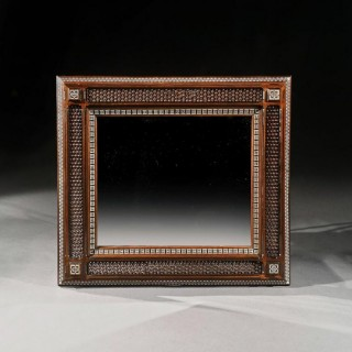 Large 19th Century Arts And Craft Liberty Moorish Mirror