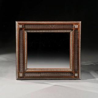 Large 19th Century Arts And Craft Liberty Moorish Mirror