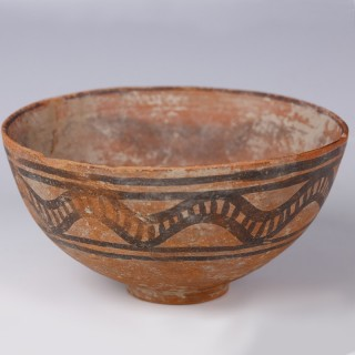 Indus Valley Polychomatic Terracotta Bowl