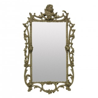 A GEORGE III STYLE MIRROR