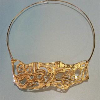 Luciana Matalon torque necklace
