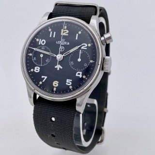 Lemania Navy pilot's chronograph