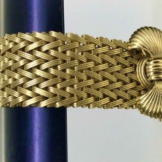 Vintage 18ct Gold Cocktail Bracelet