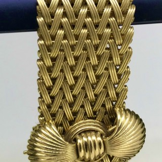 Vintage 18ct Gold Cocktail Bracelet